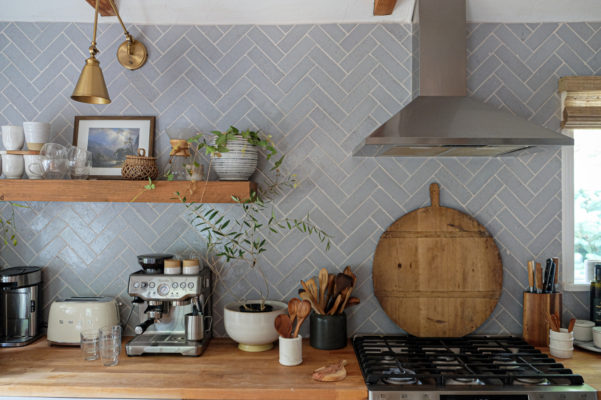 mStarr Design: Klamath Brick Kitchen