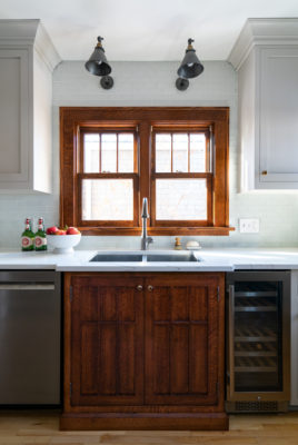 Egret Matte Glass Backsplash