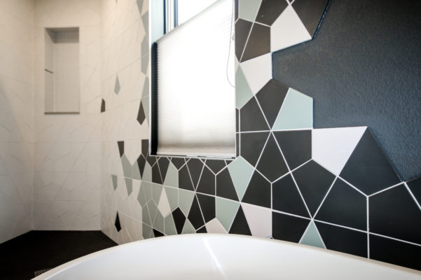 Modern Zen Hexite Bath