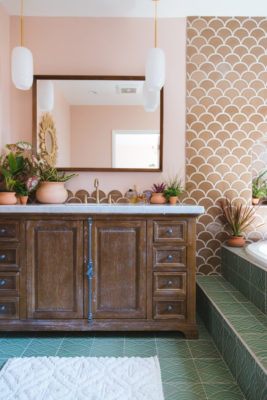 A Family Affair: Master bathroom
