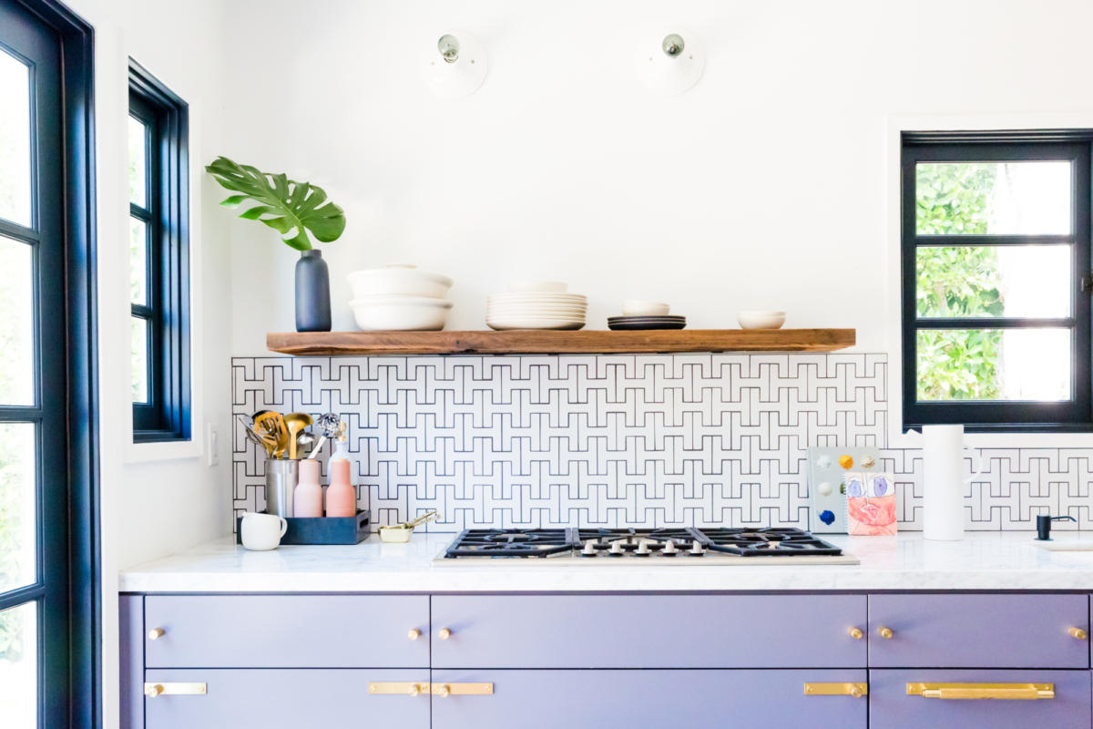- Tile Trends: Tile + Colorful Cabinets Fireclay Tile
