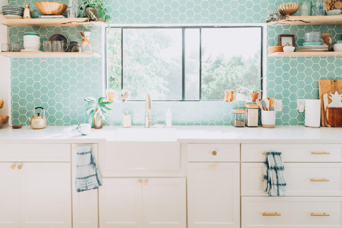 - Design Trends: Colorful Tile And White Kitchen… Fireclay Tile