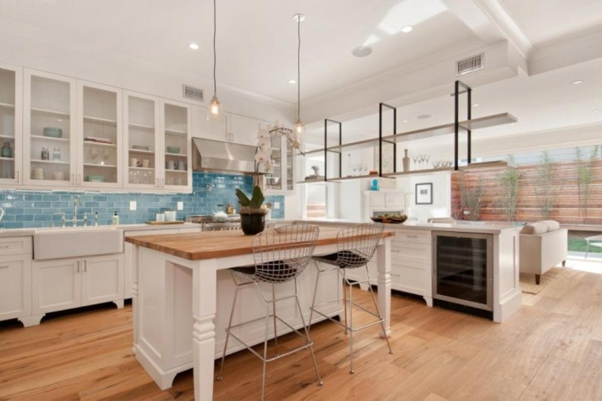 Tile By Style Transitional Kitchen Fireclay Tile