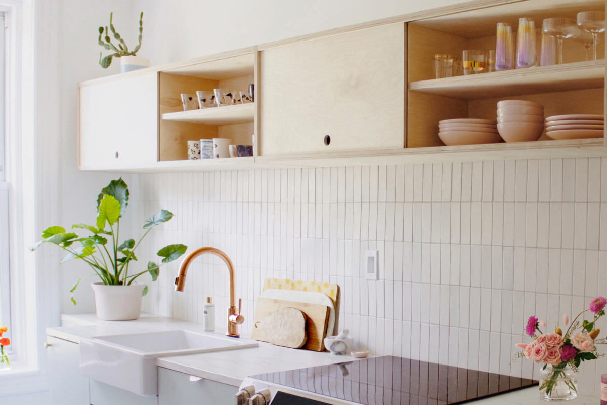 Image of: Reserve Home Feldspar And Fallow Kitchen Fireclay Tile