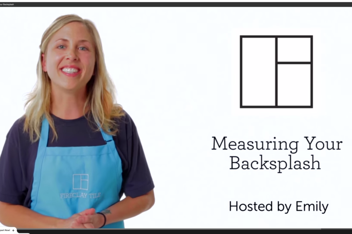 - Tile School: How To Measure For Your Tile Backsplash Fireclay Tile