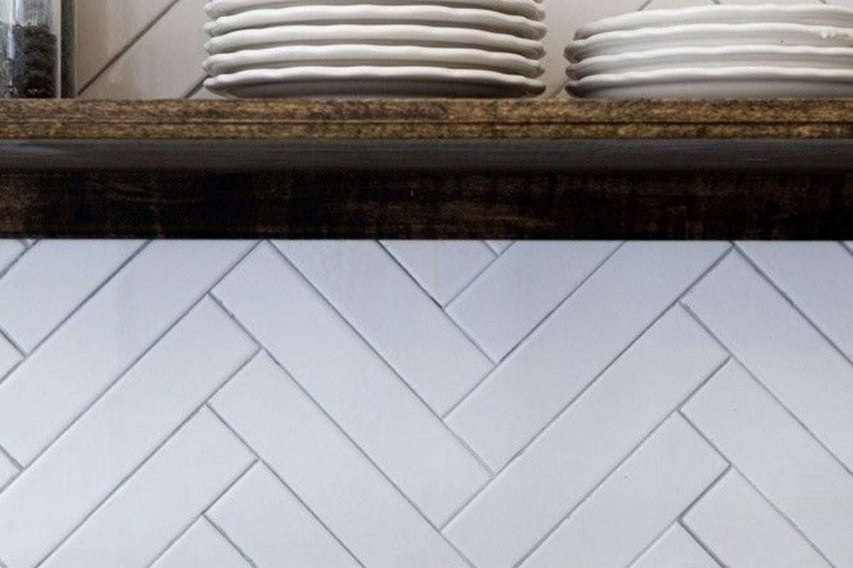 Herringbone Tiles Kitchen Ideas