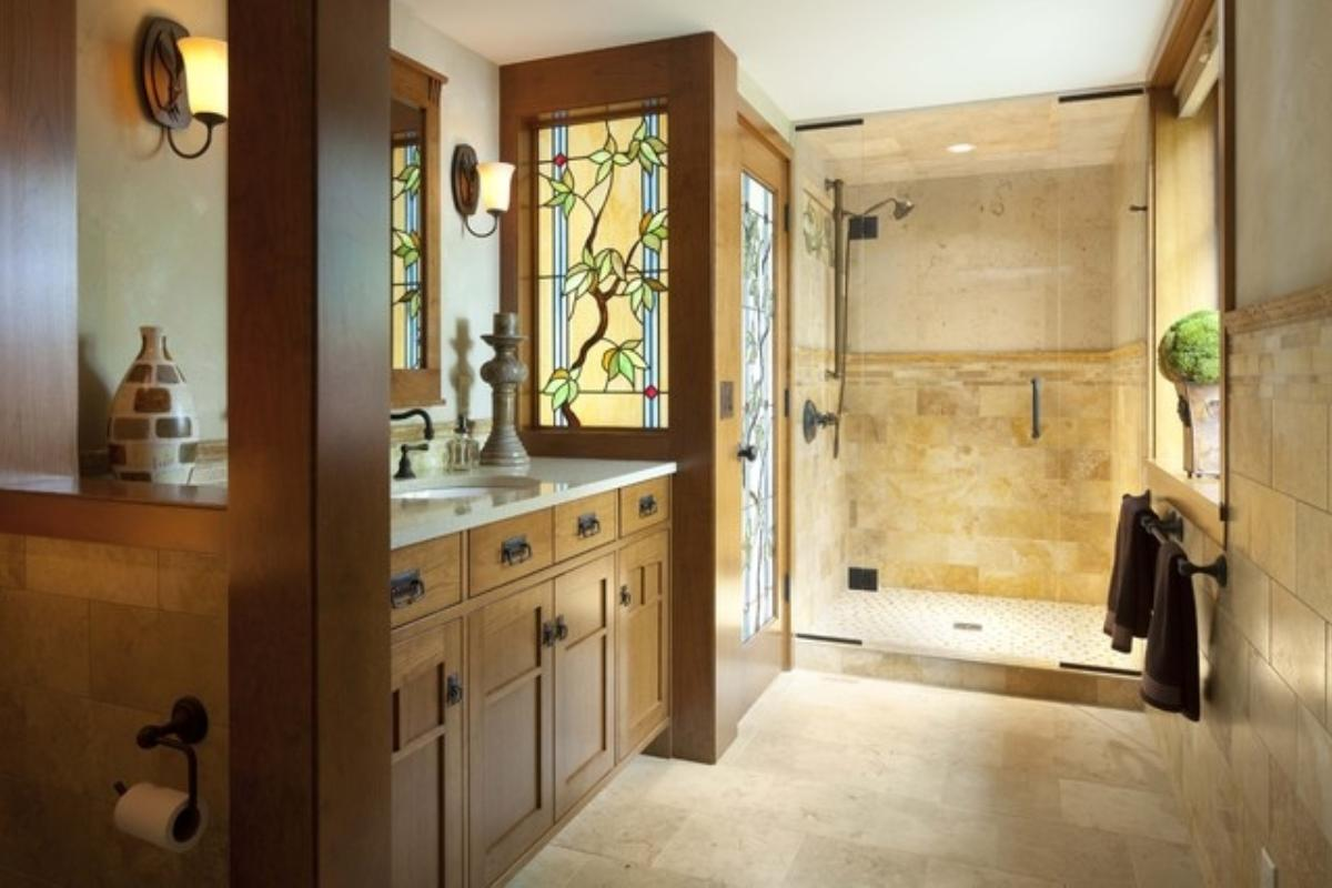 Tile By Style The Roots Of A Craftsman Bathroom Fireclay Tile