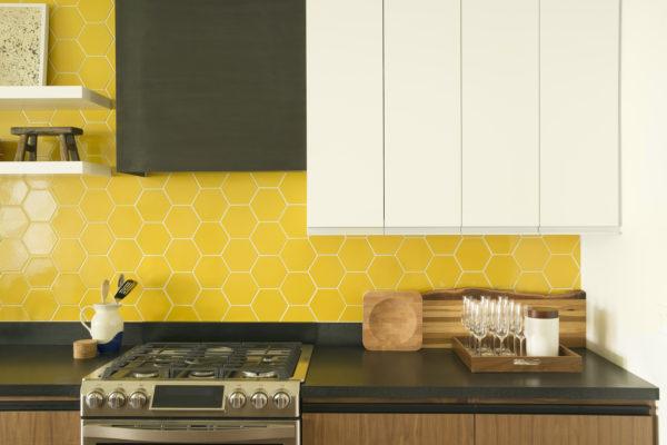 Design Trends: Hexagons in the Kitchen