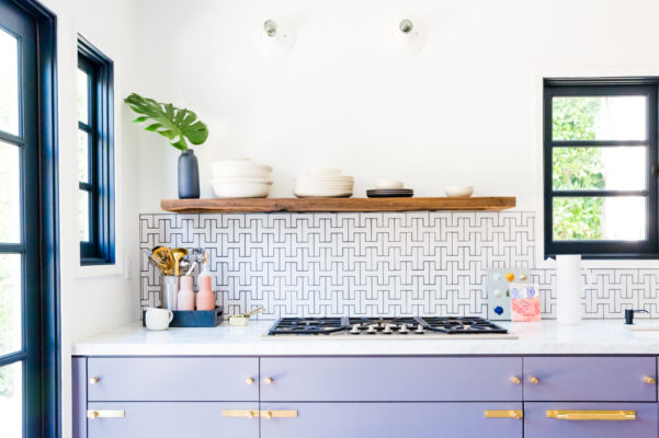 Design Trends: Colorful Cabinetry and Tile