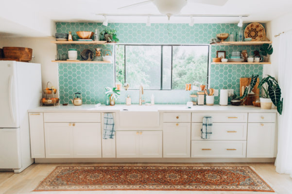 Project Spotlight: Elana's Airy Island Style Kitchen