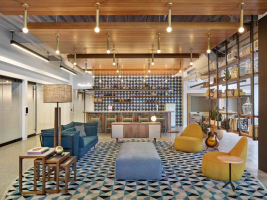 Commercial Spotlight: Corporate Amenity Space from Gensler