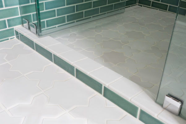 Tile School: White Grout and Tile Floors