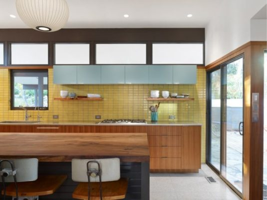 Tile by Style: Midcentury Modern Kitchen Tile