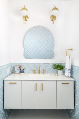 Tile Color Spotlight: Winter Blues