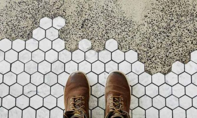 Tile Trends: Hexy with an Edge