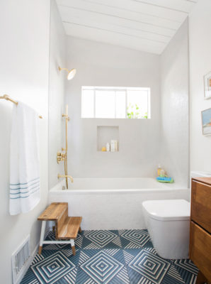 Installation Stories: Emily Henderson's Guest Bathroom Reveal