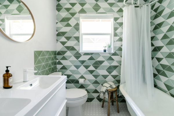Design Trends: Tiling with Triangles