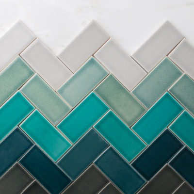 Design Trends: 3 Ways to Ombre with Tile