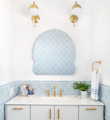 10 Tile and Fixture Combos That Go for the Gold