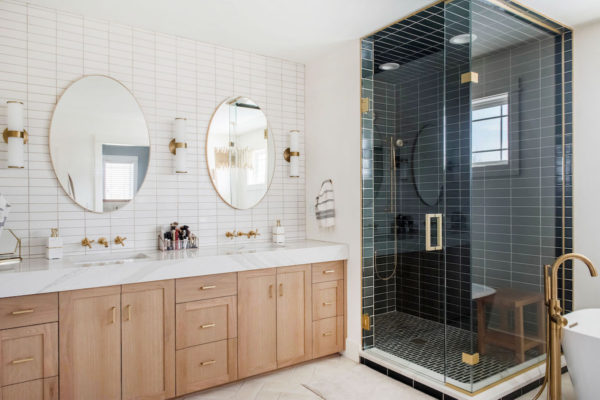 Project Spotlight: Two-Toned Master Bath