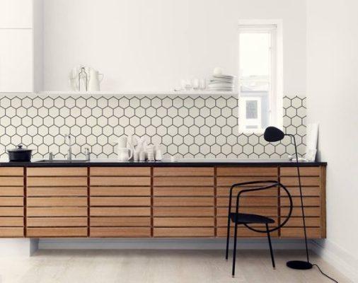 Design Trends: White Geometric Tile