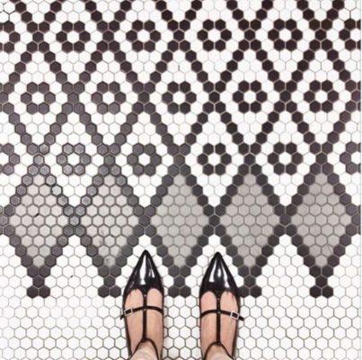 10 Super Hexy Floor Patterns