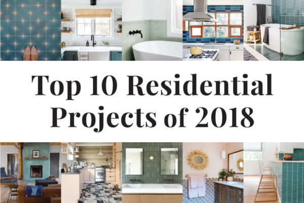 Top 10 Residential Tile Projects of 2018