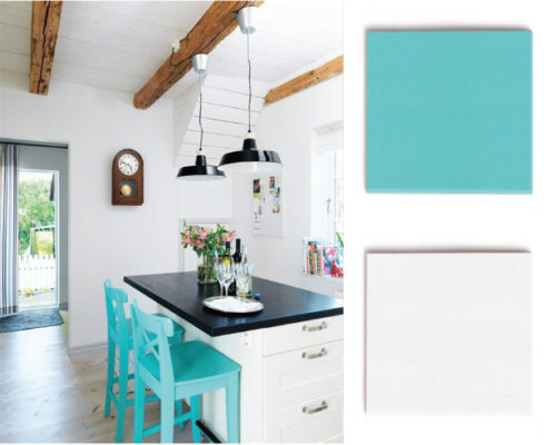 Color Spotlight: Keep it Bright with Turquoise and White Wash