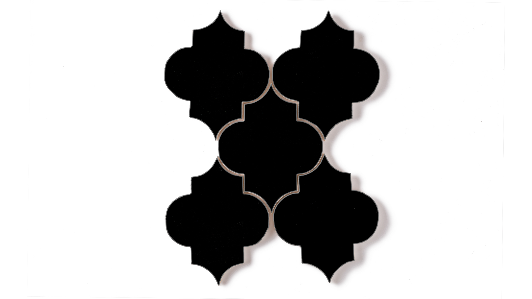 Ogee | Pitch Black | Fireclay Tile