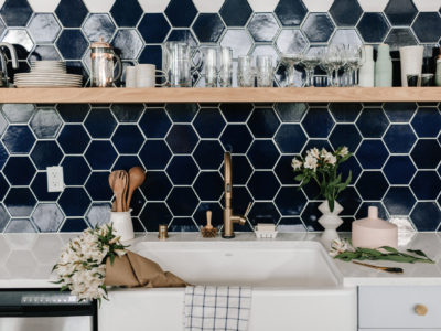 Wit & Delight Kitchen Backsplash