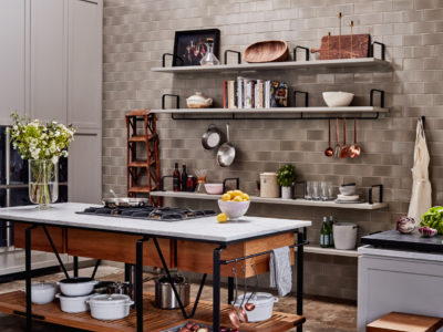 Goop Test Kitchen Backsplash