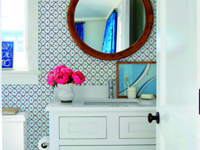 Coastal Living 2017 Idea House: Loft Bathroom