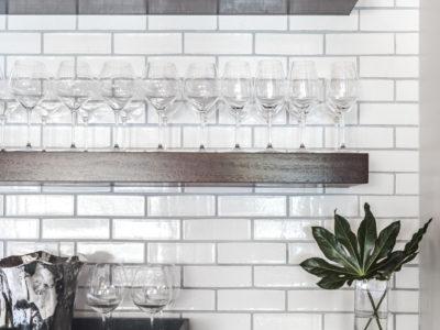 Olympic Brick Kitchen Backsplash