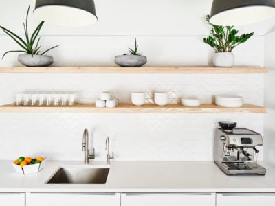 OLA Austin: Office Kitchen Tile