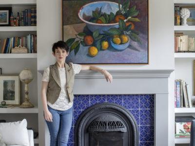 Francesca Albertazzi: Jardin Fretwork Fireplace