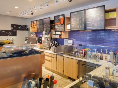 Coastal Chic Coffee Shop