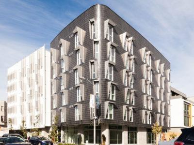 Apartment Building Goes Brick