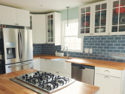 Nautical Kitchen Backsplash