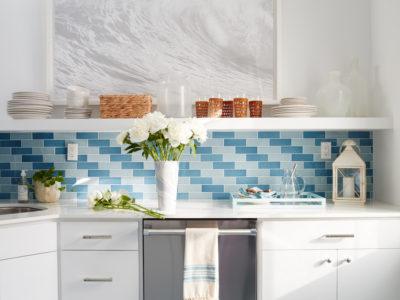 Coastal Living Pool House Kitchen