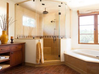 Handpainted Antique Blend Bathroom