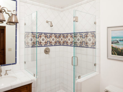 Traditional Handpainted Bathroom