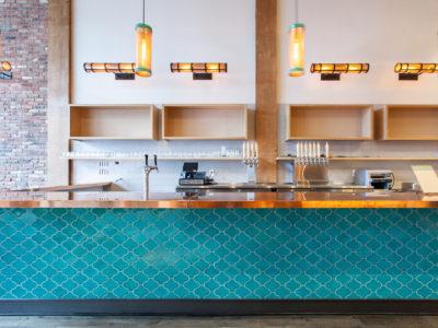 Industrial San Francisco Cafe