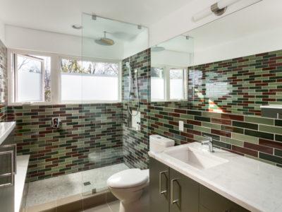 Contemporary Craftsman Bathroom