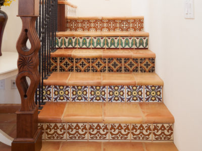 Spanish Colonial Stairway