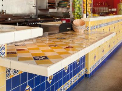 Multi Color Handpainted Restaurant