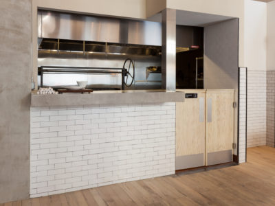 Contemporary Restaurant Kitchen