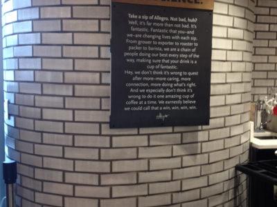 Industrial Brick Cafe