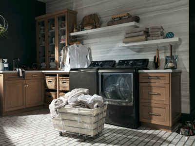 GE Catalog Laundry Room Spread