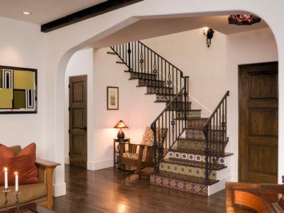 Mediterranean Handpainted Staircase