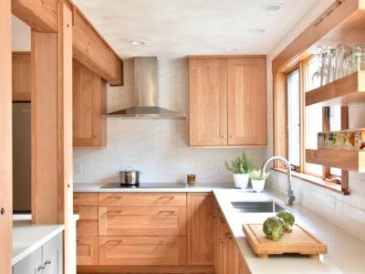 Craftsman Kitchen feat. Scalene Backsplash
